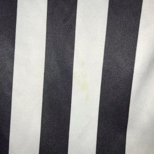 Re-Hash Tops - Black/White Striped Top. HALLOWEEN MUST BE BUNDLED